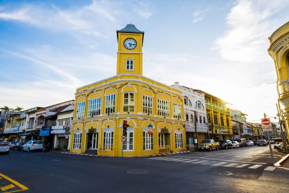 Old Phuket Tayland