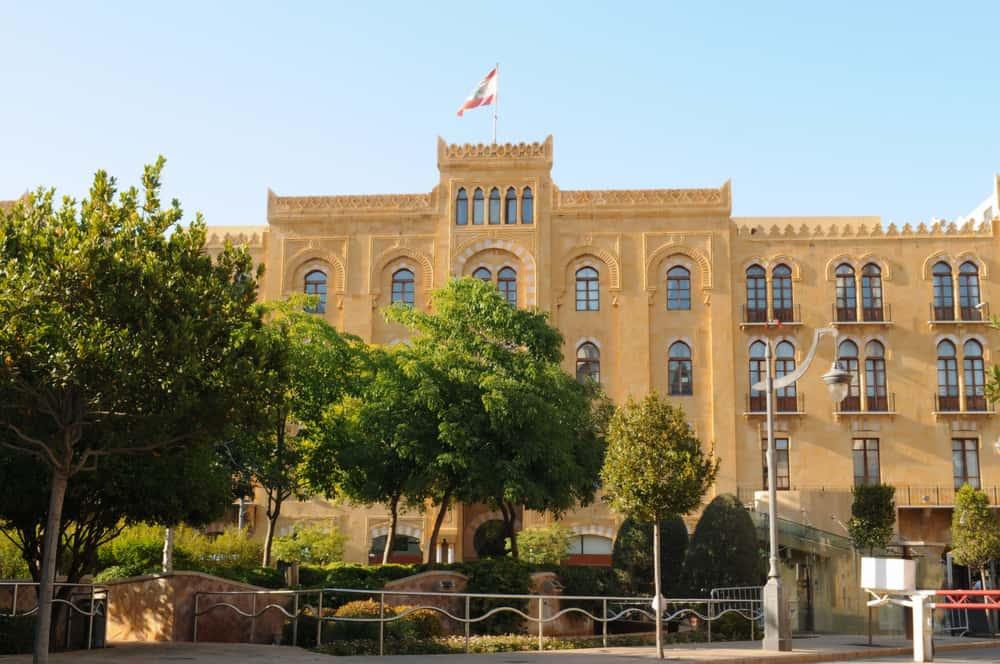 Lübnan Parlamento Binası Beyrut