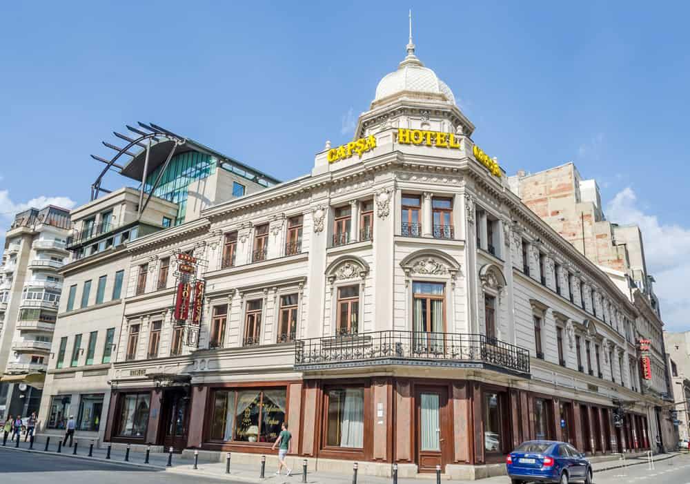 Casa Capsa Hotel'in Pastanesi Bükreş