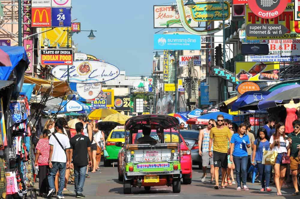 Khao San Road Bangkok Tayland