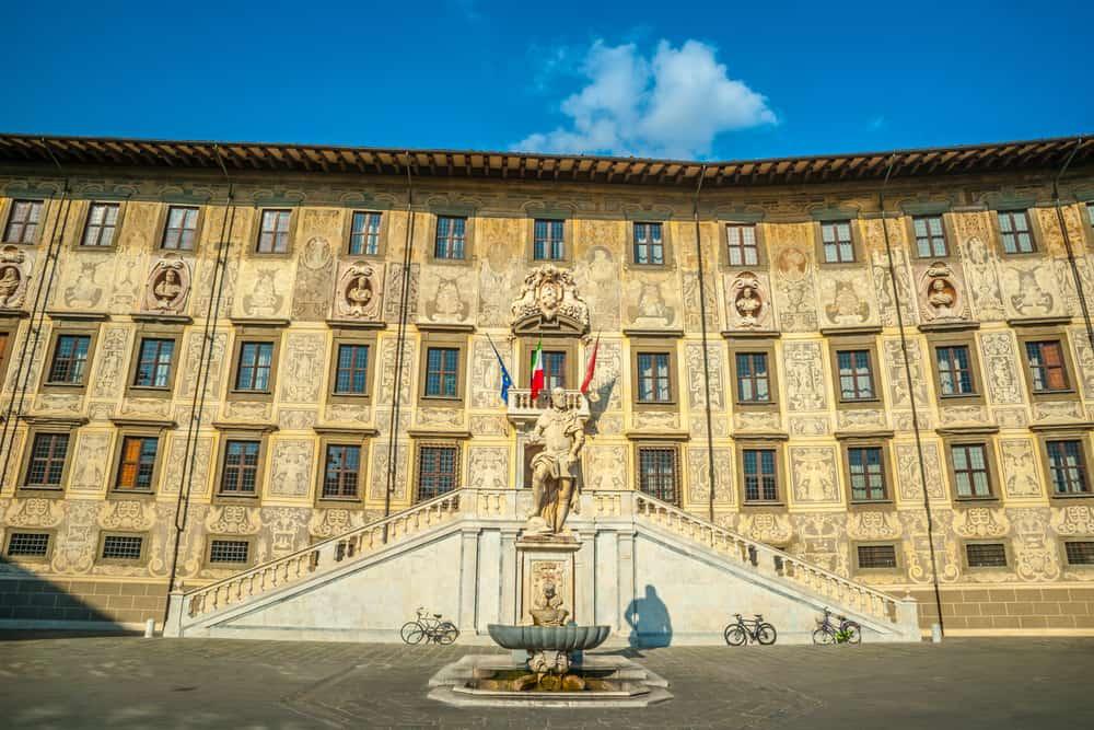 Palazzo dei Cavalieri Pisa İtalya