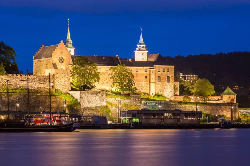 Akershus Kalesi Oslo Norveç