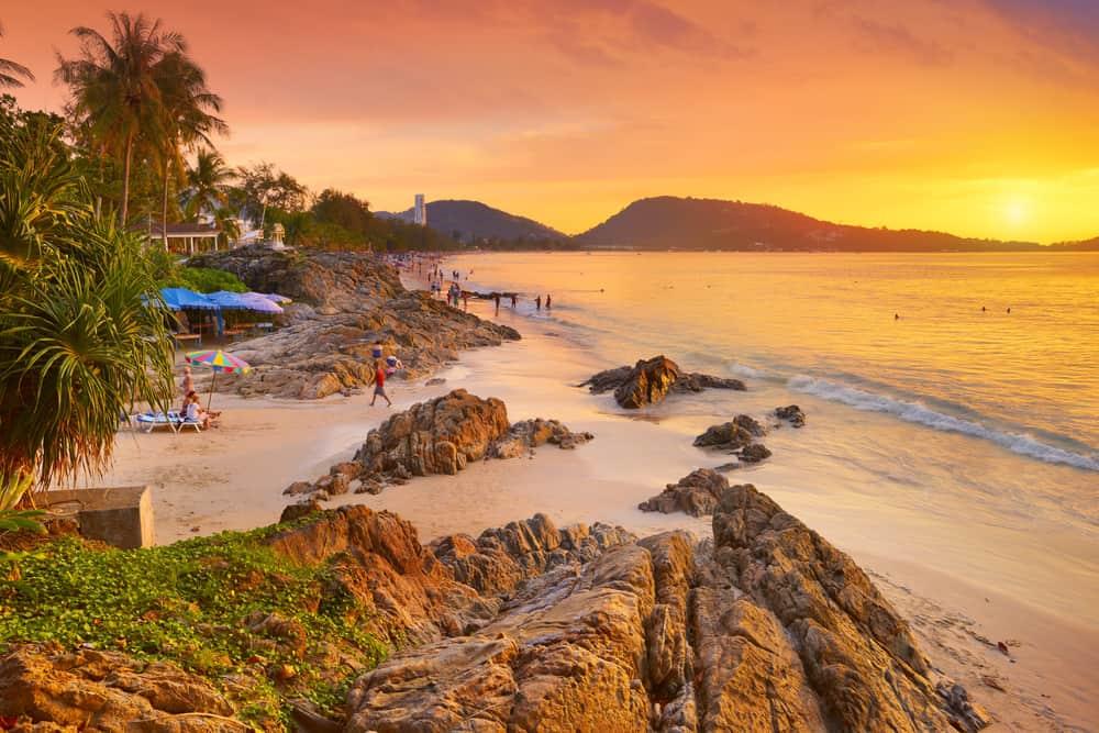 Patong Beach Phuket Tayland