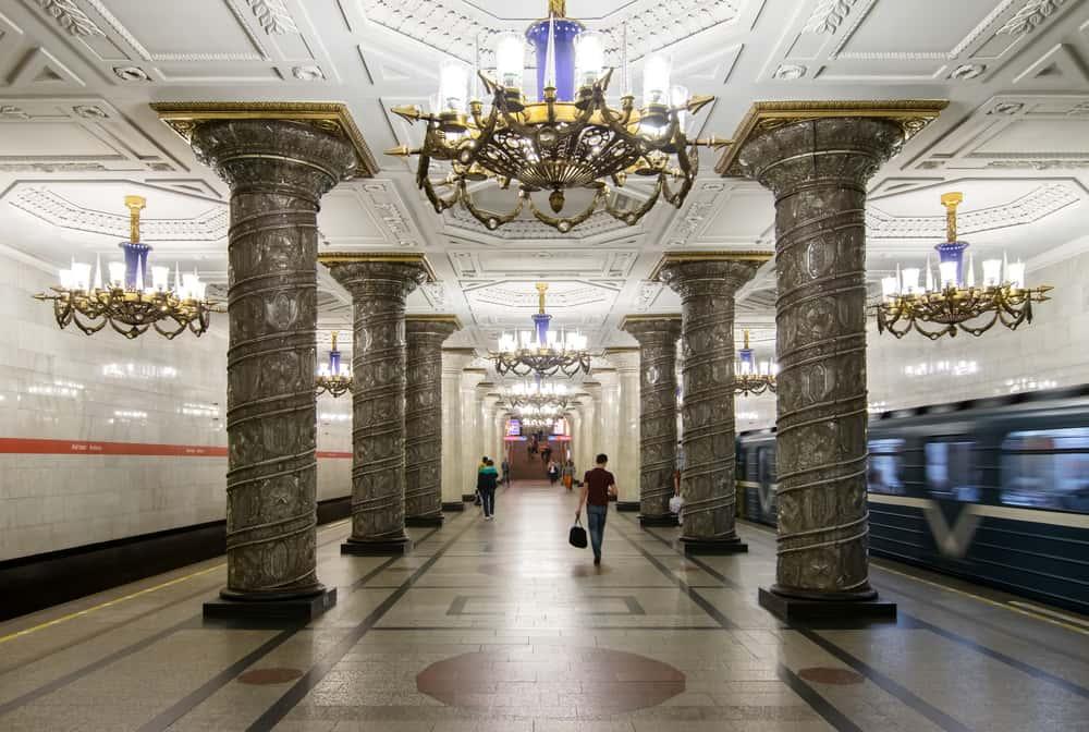 St.Petersburg'a Ulaşım Metro