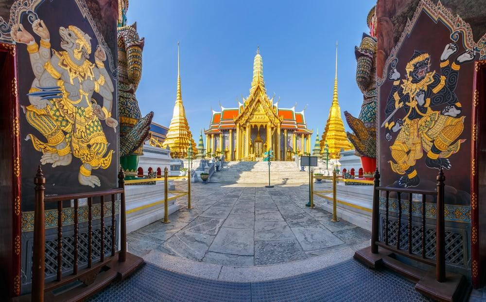 Zümrüt Buda Tapınağı (Wat Phra Kaew) Bangkok