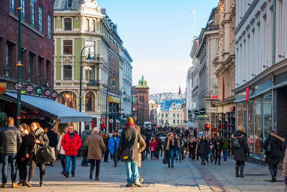 Oslo'da Alışveriş