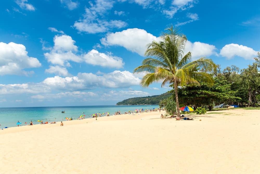 Karon Plajı Phuket Tayland