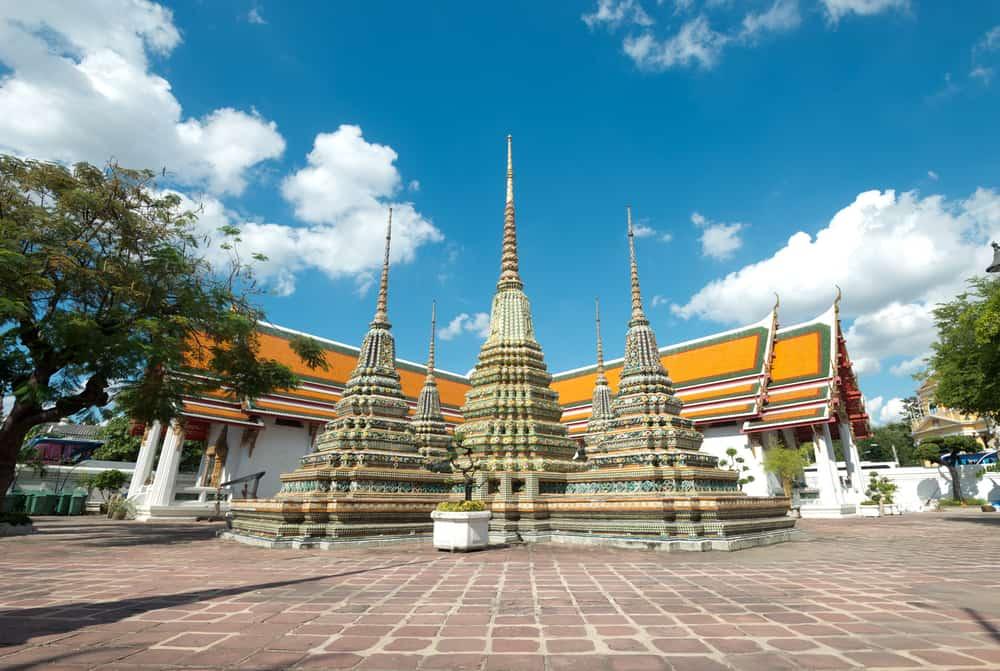 Yatan Buda Heykeli (Wat Pho) Bangkok Tayland