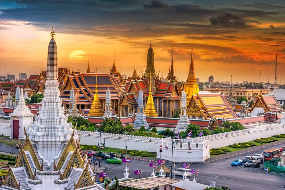 Bangkok, Tayland Büyük Saray (Grand Palace)
