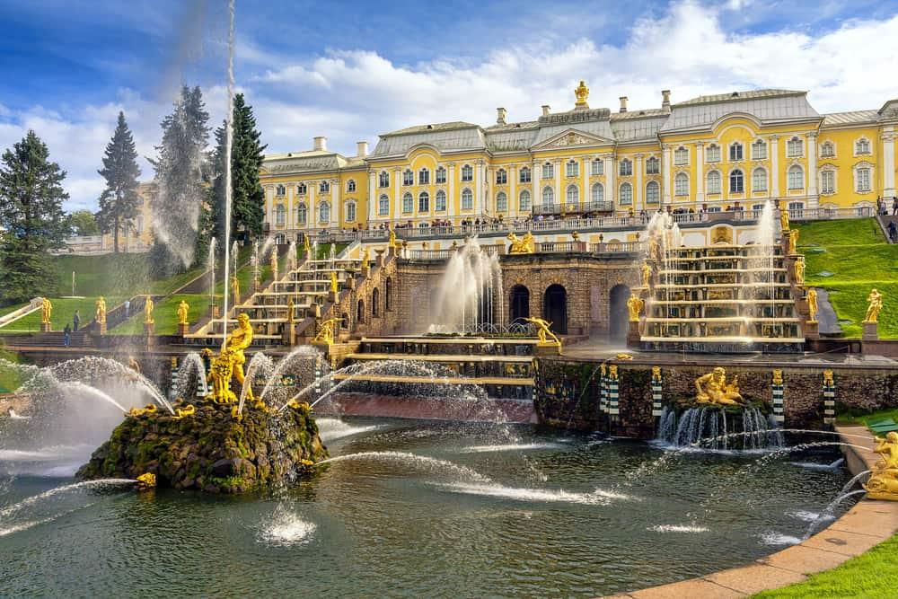 Peterhof Sarayı St. Petersburg Rusya