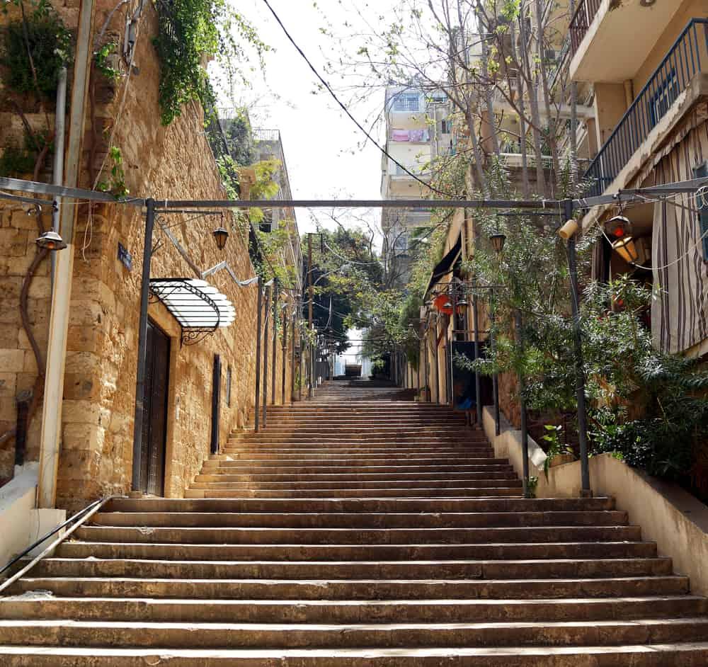 St. Nicholas Merdivenleri Beyrut