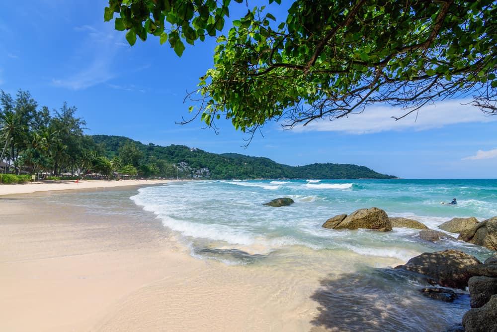 Kata Beach (Kata Noi Beach) Phuket Tayland