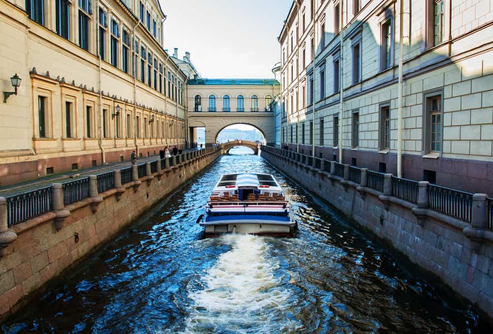 St.Petersburg'a Ulaşım Tekne