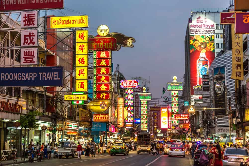 Çin Mahallesi (China Town) Bangkok