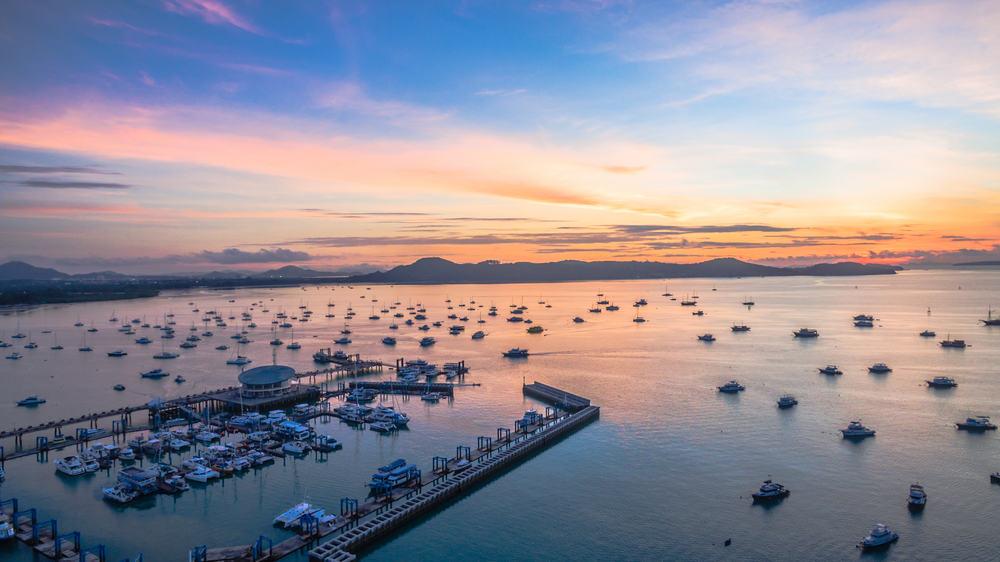 Chalong Bay Phuket Tayland