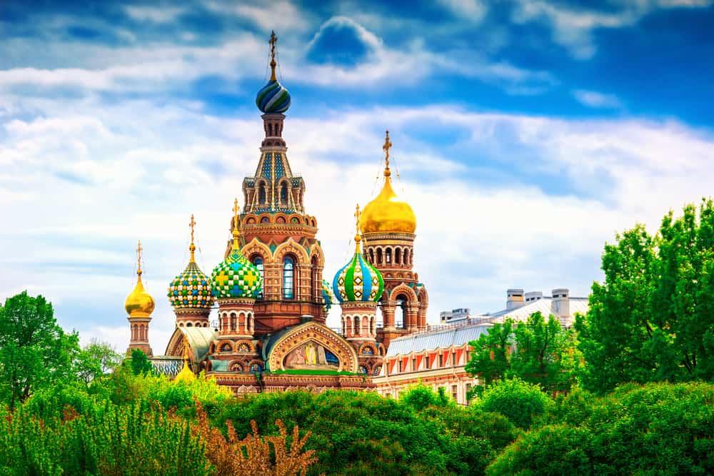 Kanlı Kilise St. Petersburg