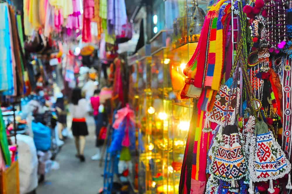 Chatuchak Pazarı Bangkok Tayland