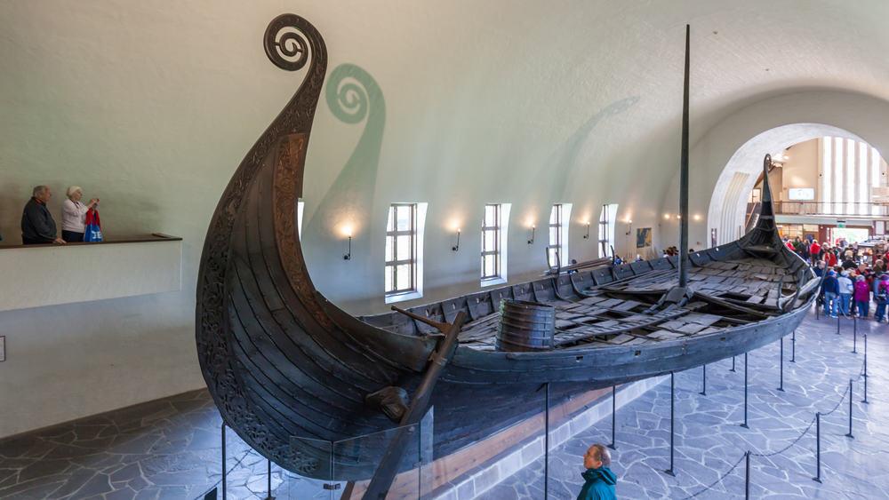 Viking Gemi Müzesi Oslo Norveç