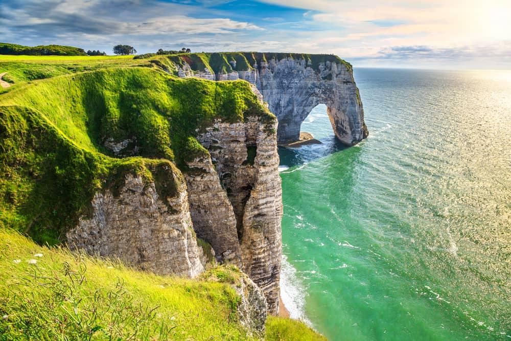 Etretat Fransa