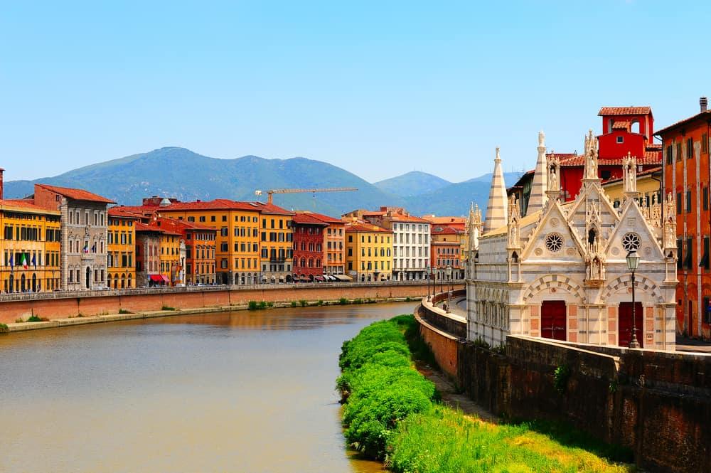 Arno Nehri, Pisa, İtalya