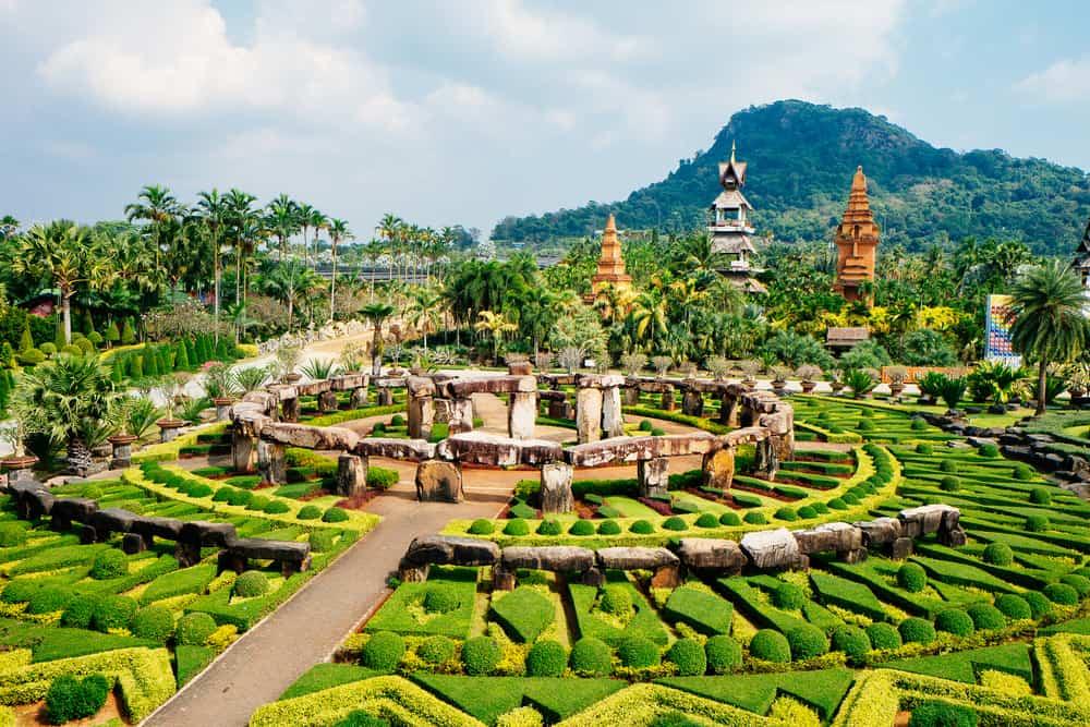 Nong Nooch Tropik Botanik Bahçesi Tayland