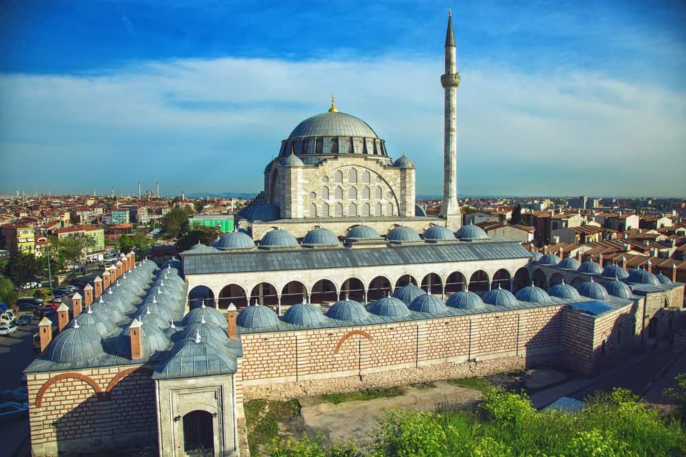 Mihrimah Sultan Camii Edirnekapı İstanbul