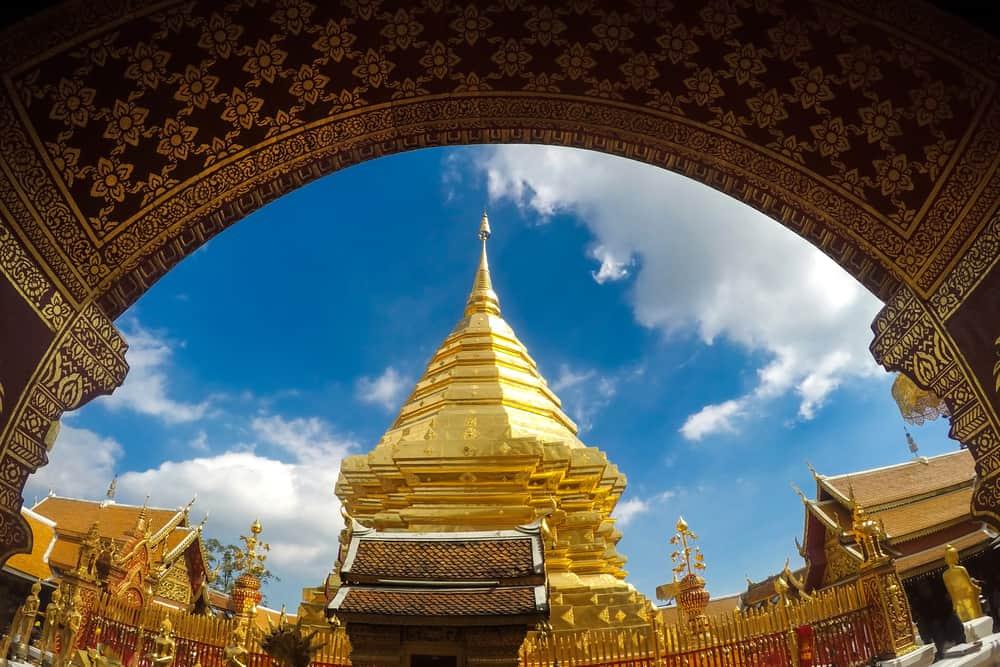 Phrathat Doi Suthap Tapınağı Bangkok