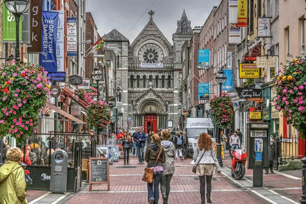 Grafton Caddesi Dublin