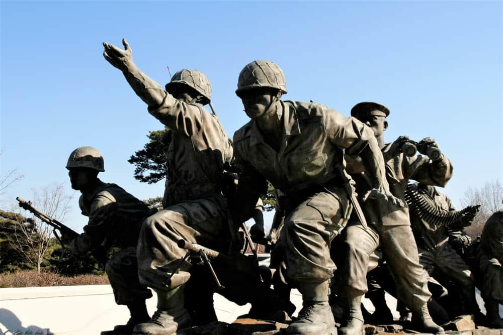 Kore Savaş Anıtı Seul