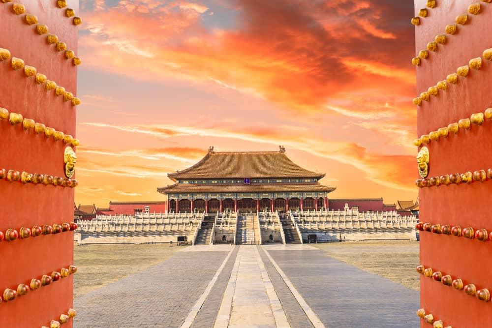 İmparatorluk Sarayı ve Yasak Şehir Pekin Çin