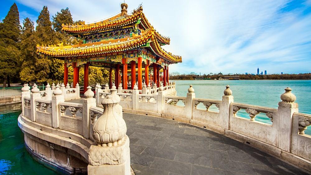 Pekin Beihai Parkı