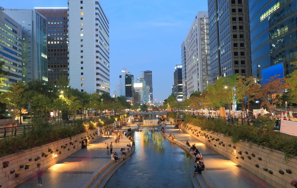 Cheonggyechen Nehri Seul