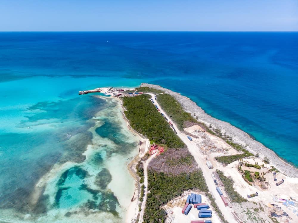 Cococay Adası Bahamalar