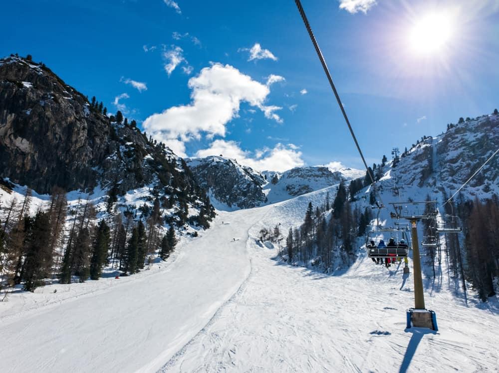 Cortina d'Ampezzo, İtalya