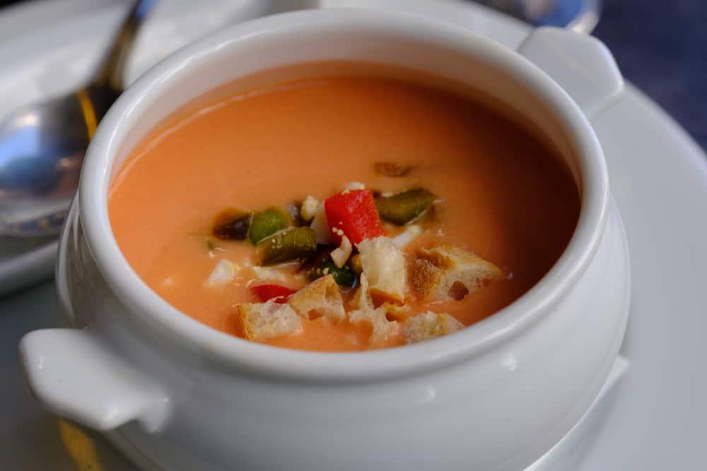 Gazpacho Sevilla Yemek