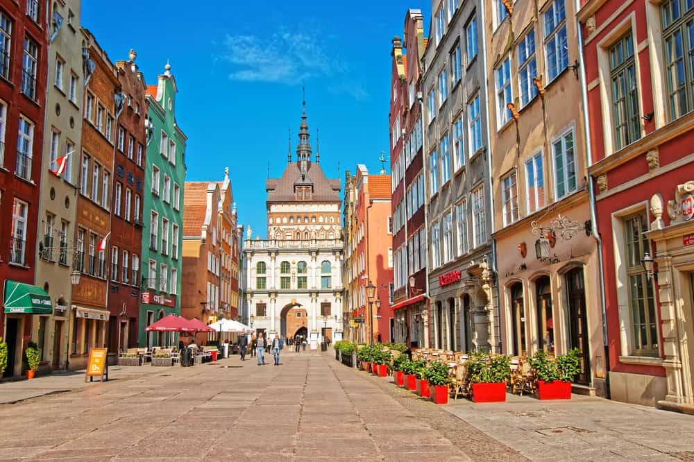 Golden Gate Gdansk Polonya