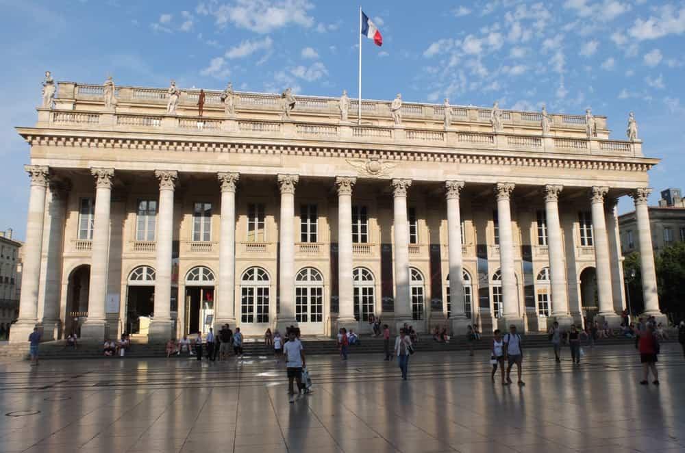 Grand Théâtre Bourdeaux Fransa