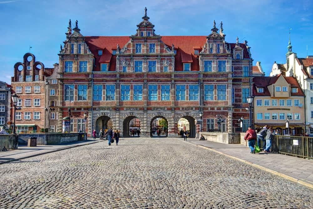 Green Gate Gdansk Polonya