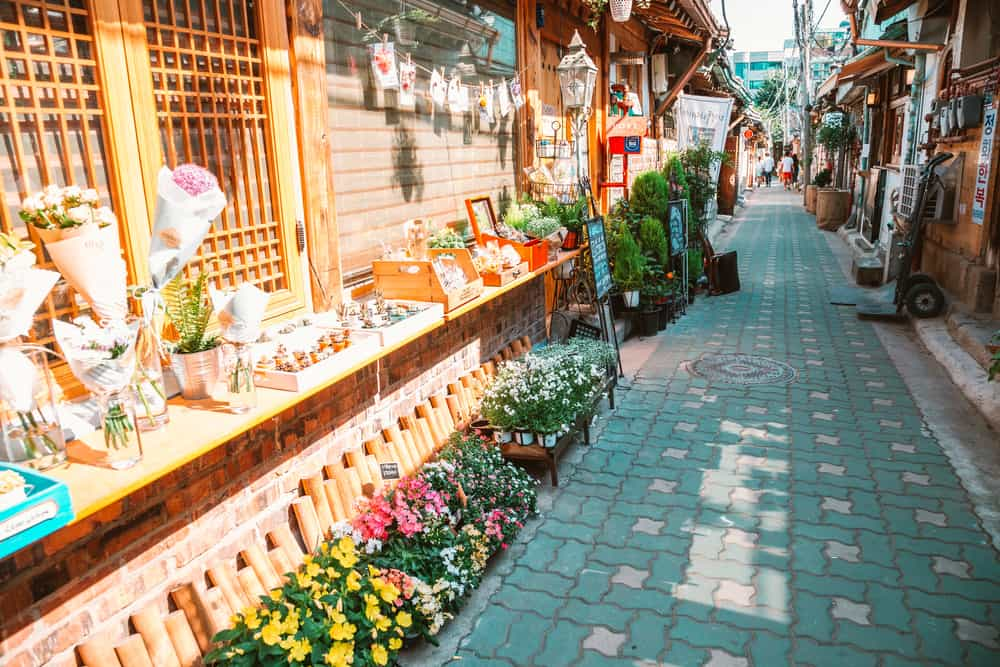 Ikseon-dong Hanok Köyü Seul
