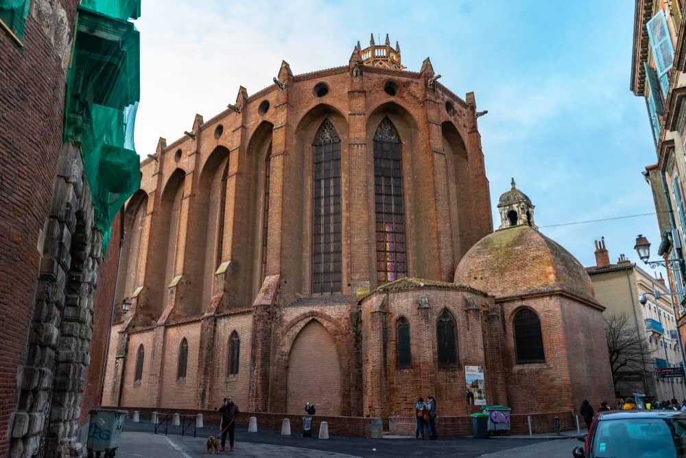 Jakobinler Manastırı (Couvent des Jacobins) Toulouse Fransa