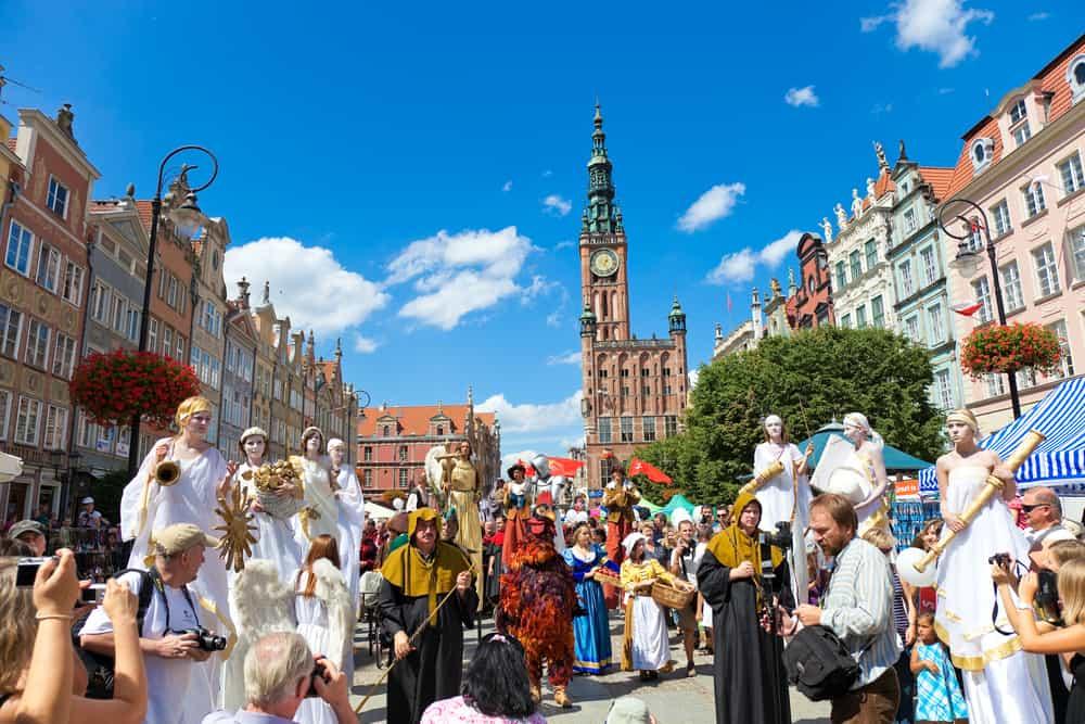 Jarmark Św. Dominika, St. Dominik Festivali Gdansk Polonya