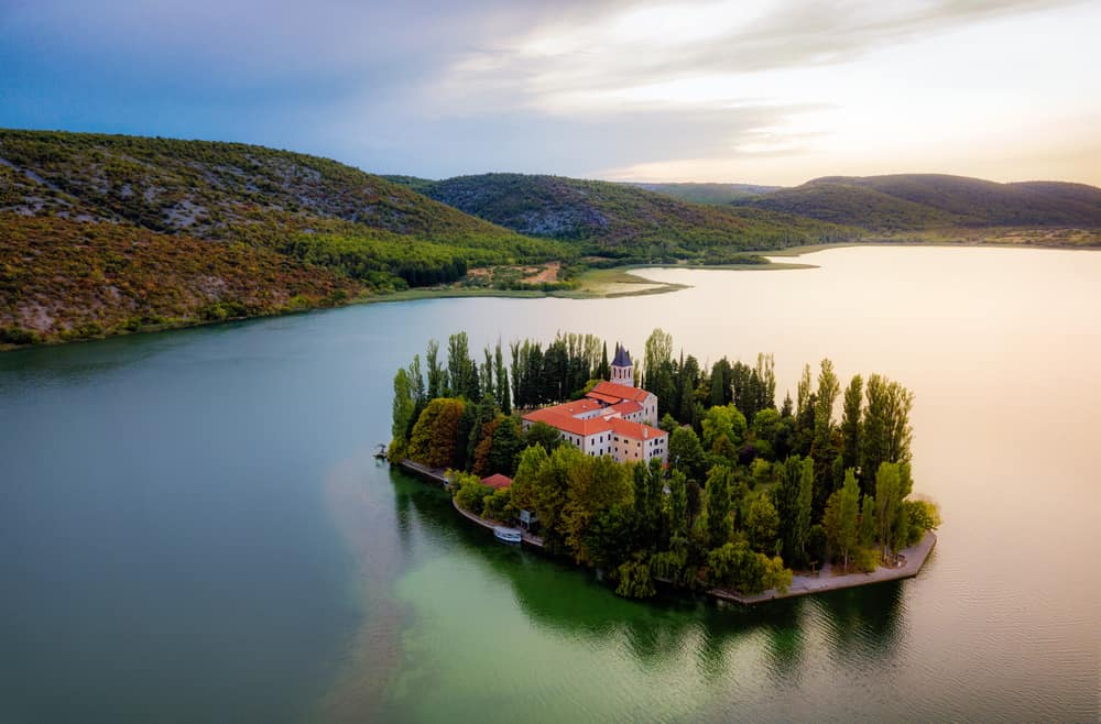 Krka Milli Parkı, Hırvatistan