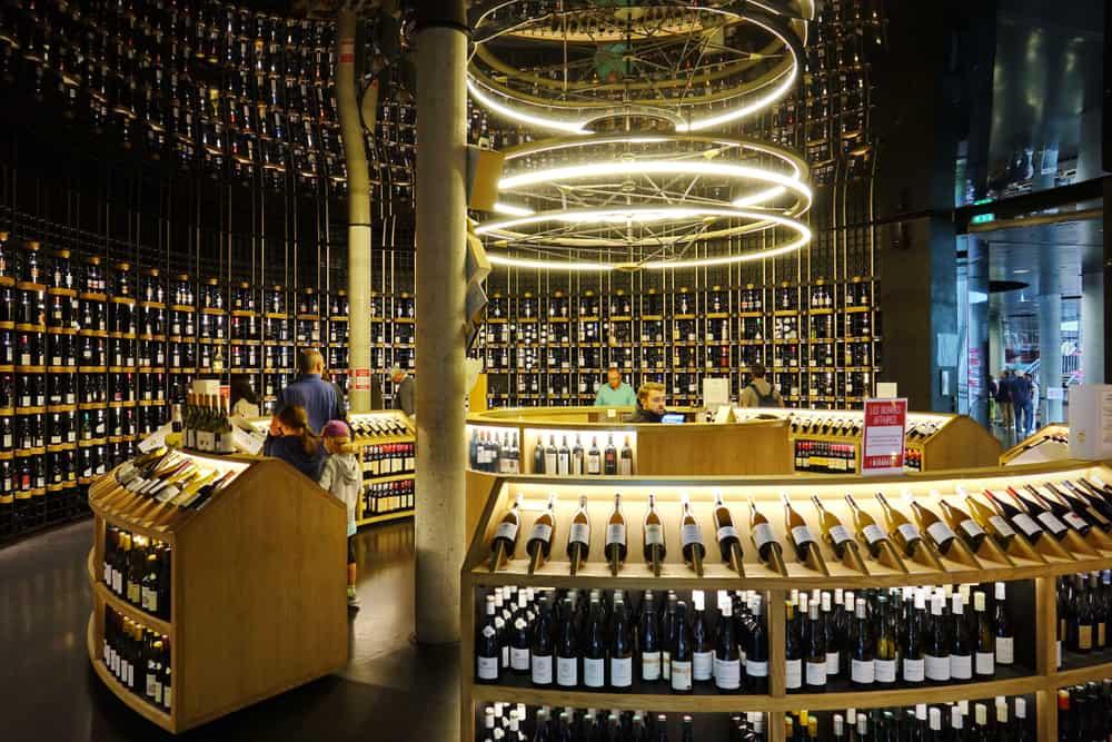 La Cité du Vin Bourdaux Fransa