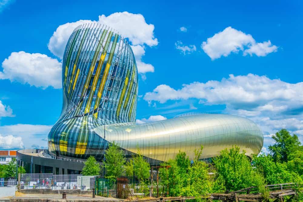Bourdeaux Fransa La Cité du Vin ve