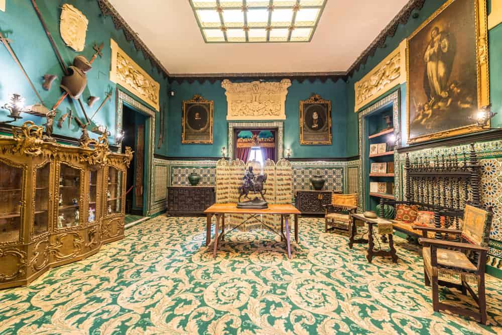 Lebrija Kontesi Sarayı (Museo Palacio de la Condesa de Lebrija) Sevilla İspanya