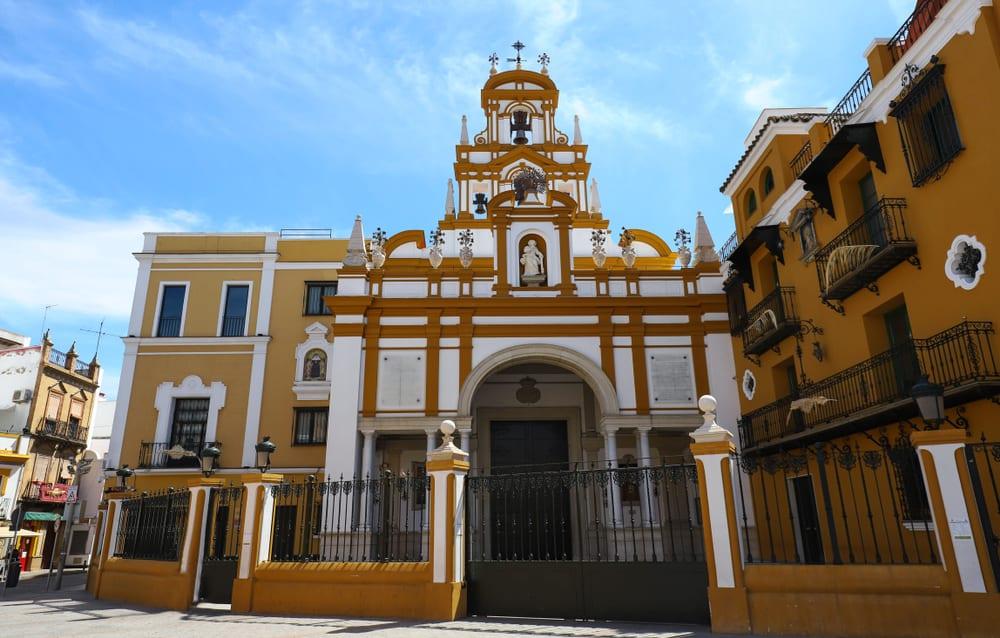 Macarena Bazilikası Sevilla İspanya
