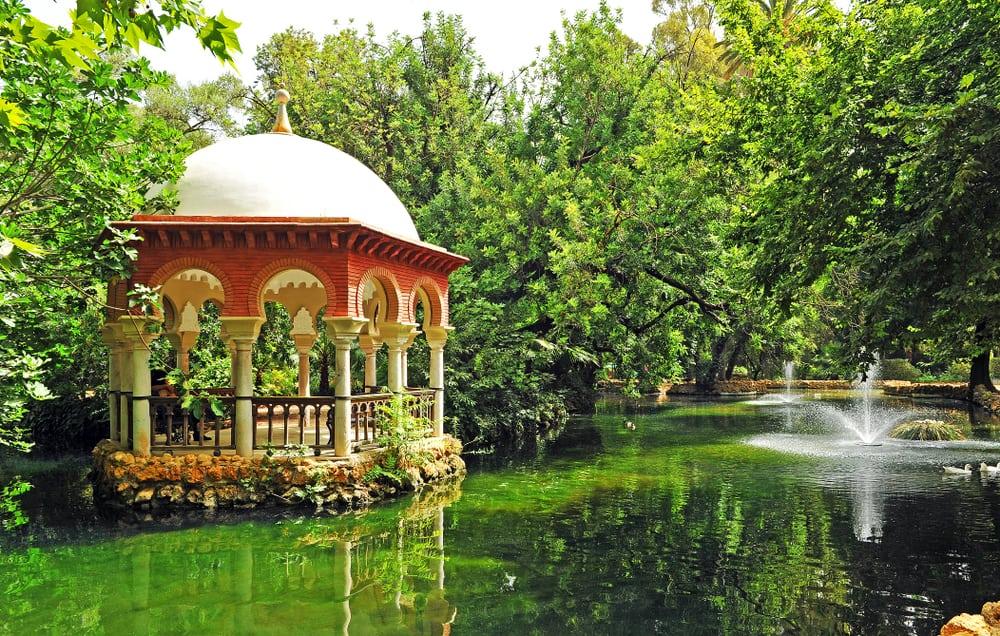 Maria Luisa Park Sevilla İspanya
