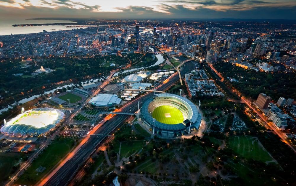 Melbourne'da Gece