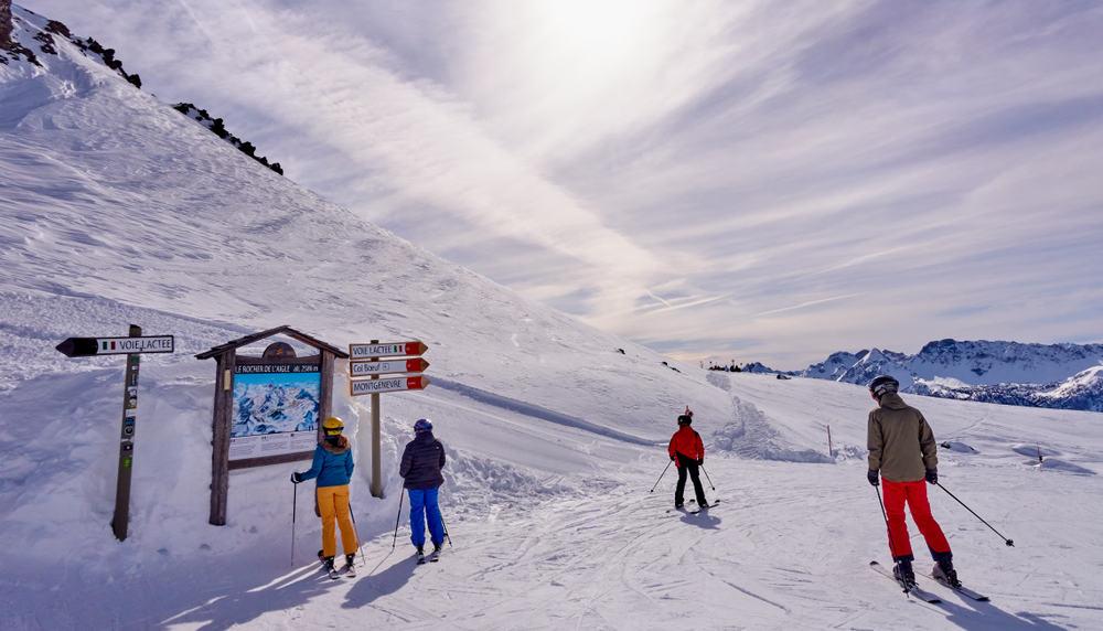 Montgenèvre Kayak Merkezi, Fransa