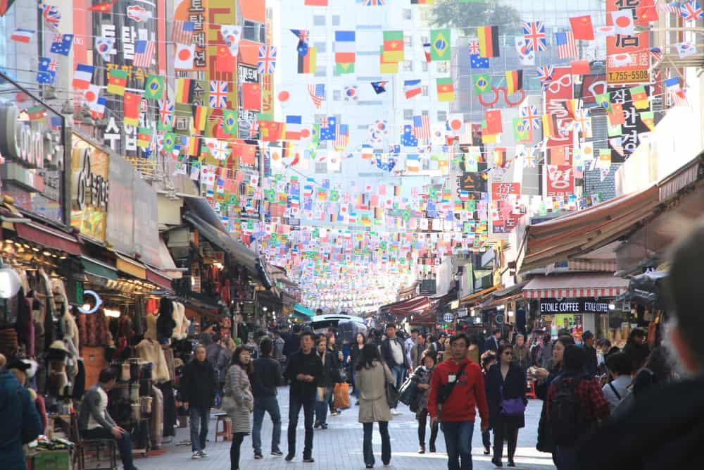 Namdaemun Pazarı Seul